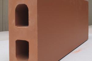 Wandstein aus Ton für nichttragende Innenwände