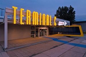 Die Show- und Eventlocation rund ums Fliegen im Flughafen Berlin-Schönefeld: das Terminal C<br />