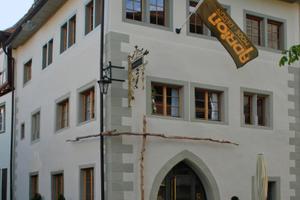 Das Stadthaus am Münsterplatz 3 in Überlingen von außen und innen