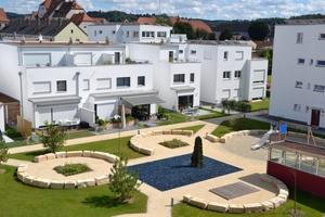 Die massiv errichteten Gebäude des Ludmilla-Wohnparks erreichen den Plus-Energiestandard<br />Fotos: Unipor