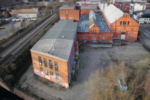 Im alten Kraftwerk Bille in Hamburg-Hammerbrook soll nach Plänen des Architekten Hadi Teherani ein weiteres Meilenwerk entstehen (siehe hierzu auch den Bericht über das Meilenwerk Böblingen auf Seite 43 in dieser Ausgabe)<br />Foto: Meilenwerk Hamburg