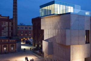 Mit dem dritten Preis ehrte man die Zusammenarbeit beim Bau des Museums für Architekturzeichnung in Berlin<br />Foto: Patricia Parinejad