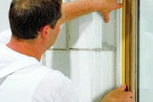 Je nach Einbauposition und Größe des Fensters sowie abhängig von der Dämmstoffdicke muss das richtige Anschlussprofil gewählt werdenFotos: Baumit