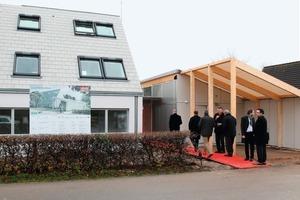 Am 19. November war die offizielle Eröffnung des LichtAktiv Hauses, dem deutschen Beitrag zum europaweiten Experiment Model Home 2020 der Firma Velux<br />