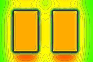 Thermografische Simulation eines Fassadenausschnitts des untersuchten Gebäudes in der Reichenbachstraße in München. Anhand der Farben ist die Wärmestromdichte gut zu erkennen Fotos: Hild und K