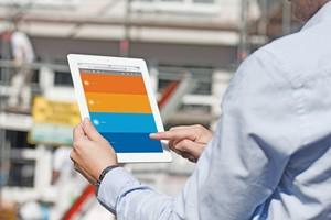 Die Cloud-basierte Büro-Software ist auch mobil nutzbar Foto: Moser