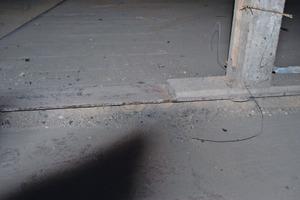 Bundwände wurden auch auf Stahlträgern errichtet<br />