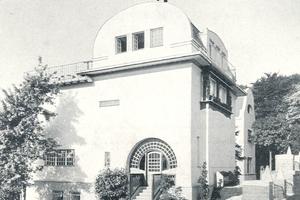 Fotografie von 1901 des kleinen Hauses Glückert<br />