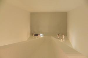 James Turrell forderte von den Handwerkern eine makellose Oberfläche der in Trockenbautechnik erstellen Räume<br />