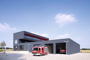 Anerkennung Industrie- und Gewerbebauten: Rettungswache Leverkusen-Steinbüchel <br />