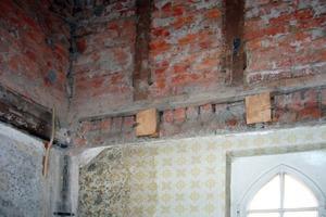 Im Zuge des Umbaus wurde die Villa innen komplett entkernt<br />