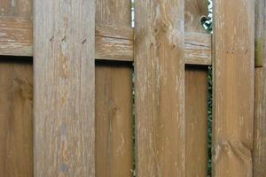 Links: Wenn die bestehende Lasur-Beschichtung nicht ausreichend vor UV-Strahlen schützt, vergraut die Holzoberfläche. Rechts oben: Holzbauteil mit Bläuebefall. Rechts unten: Bei der Verwendung von wasserverdünnbaren Beschichtungsstoffen können Holzinhaltsstoffe aufschwimmen und Verfärbungen an der Anstrichoberfläche verursachen<br />