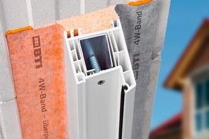 Das neue System bietet dem Monteur die passenden Komponenten für die vier Ebenen in der Fenstermontage: innere, mittlere und äußere Abdichtung sowie die Befestigung<br />