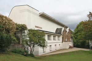 """Das 1901 nach Plänen von Josef Maria Olbrich erbaute Ernst Ludwig Haus ist eines der """"Aushängeschilder"""" der Darmstädter Mathildenhöhe<br />Fotos: Thomas Wieckhorst<br />"""