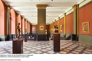 Der Klingersaal mit der Kunst des Fin de Siécle