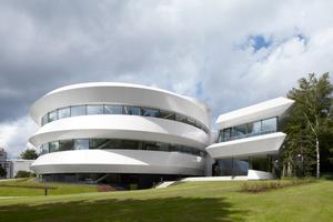 """<div class=""""99 Bildunterschrift_negativ"""">Einen Preis erhielt das Büro Bernhardt + Partner für das Haus der Astronomie in Heidelberg</div>"""
