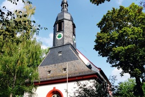 Frisch renoviert: Die St.Lorenz Kirche in Hof<br />