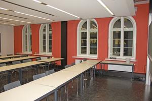 Seminarraum nach der Fertigstellung