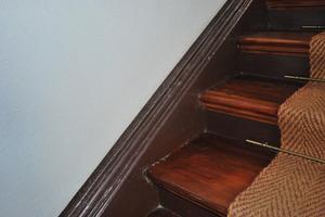 Detail eingestemmte Treppe