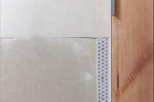 Profil für den Gleitfugenanschluss einer Trockenbauplatte an ein Holzbauteil<br />
