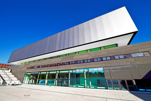 Der CityCube: Die neue Messe- und Kongresshalle für die Messe Berlin