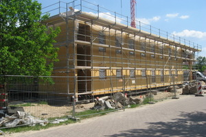 Am Forschungsstandort des Umweltbundesamtes in Berlin-Marienfelde entsteht ein Büroneubau als Nullenergiehaus<br />