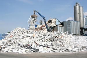 Recyclingwerk der Veka Umwelttechnik in Behringen<br />Text + Fotos: Thomas Wieckhorst