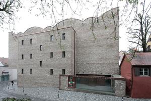 Kunstmuseum in Ravensburg vom Büro Lederer Ragnarsdóttir Oei<br />Foto: Benedikt Kraft