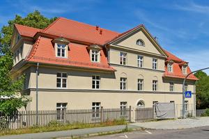 Die denkmalgeschützte Fassade der Schwabestraße 11 bleibt dank Innendämmung erhalten