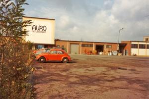 """Seit 1983 entwickelt und produziert Auro am gleichen Standort in Braunschweig<span class=""""bildnachweis"""">Foto: Archiv Auro</span>"""