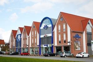 Rund 1200 m<sup>2</sup> Verkaufsfläche umfasst der Ende Februar 2014 fertiggestellte Anbau an das Modehaus Wübben in Haselünne