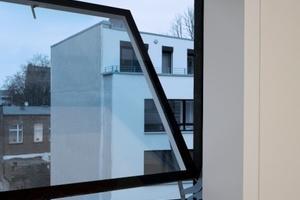 Die Fenster sind technisch mit einem anspruchsvollen Klappmechanismuss ausgestattet<br />