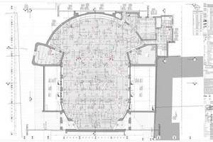 Deckenspiegel Theatersaal<br />