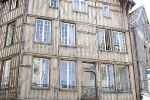 Feines Fachwerk in Frankreich<br />
