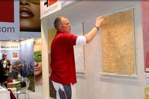 Mirko Rossmann von Baumit zeigt CreativTop Pearl