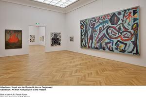 Auch ganz moderne Kunst wird im Albertinum gezeigt: Blick in den A.R.-Penck-Raum<br />