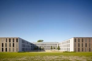 Anerkennung: Das Unterkunftsgebäude für den offenen Vollzug der JVA in Berlin-Zehlendorf vom Büro MGF Architekten aus Stuttgart Foto: Christian Richter<br />