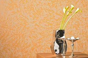 Die Wickeltechnik kann mit anderen Maltechniken kombiniert werden<br />Foto: Brillux