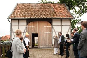 Den Sonderpreis erhielt in Niedersachsen eine Querdurchfahrtsscheune in Lamme