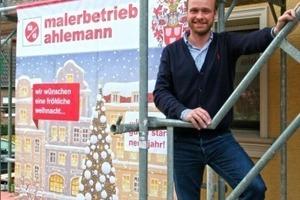 Tim Ahlemann hat zusätzlich zum Meistertitel die Prüfung zum Betriebswirt im Handwerk abgelegt  Foto: Thomas Schwarzmann