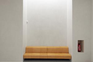 Sitznische im ersten Obergeschoss