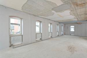 Beispiel für die Ausführung einer raumsparenden Innendämmung: Sanierung des alten Rathauses in Schonungen<br />