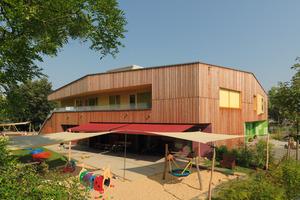 2. Preis Öffentliche Gebäude: Kindertagesstätte in Dresden, Comeniusstraß