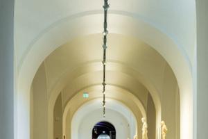 Rotkalk Fein diente im Museum in Gotha als Untergrund für die Beschichtung mit Rotkalk Glätte
