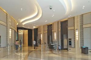 """Rechts: Der President`s Prize ging für das J.W. Marriott Hotel an Interiors Designer Decorators aus Indien<span class=""""bildnachweis"""">Foto: Santosh Sawant</span>"""