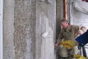 Hydrophobierende Imprägnierung für die Betonfassade des Deutschen Museums München<br />