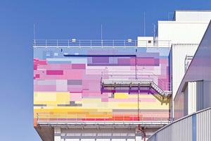 Einen 1. Preis gab es für die mutige Farbgestaltung des Müllheizkraftwerks in Ludwigshafen Foto: Guido Erbring / Brillux
