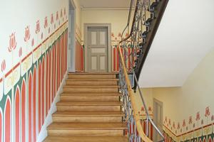 Treppenhaus nach der Sanierung
