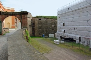 Die gesamte Festung wird bis 2011 umfangreich saniert<br />