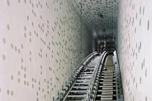 Achterbahn? Nein, auch dies ist ein Foto von der Baustelle der Hamburger Elbphilharmonie<br />